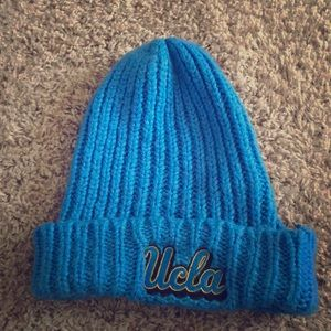UCLA floppy knit hat